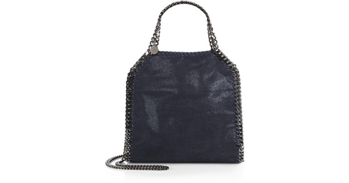 Stella mccartney Mini Baby Bella Shoulder Bag in Blue   Lyst