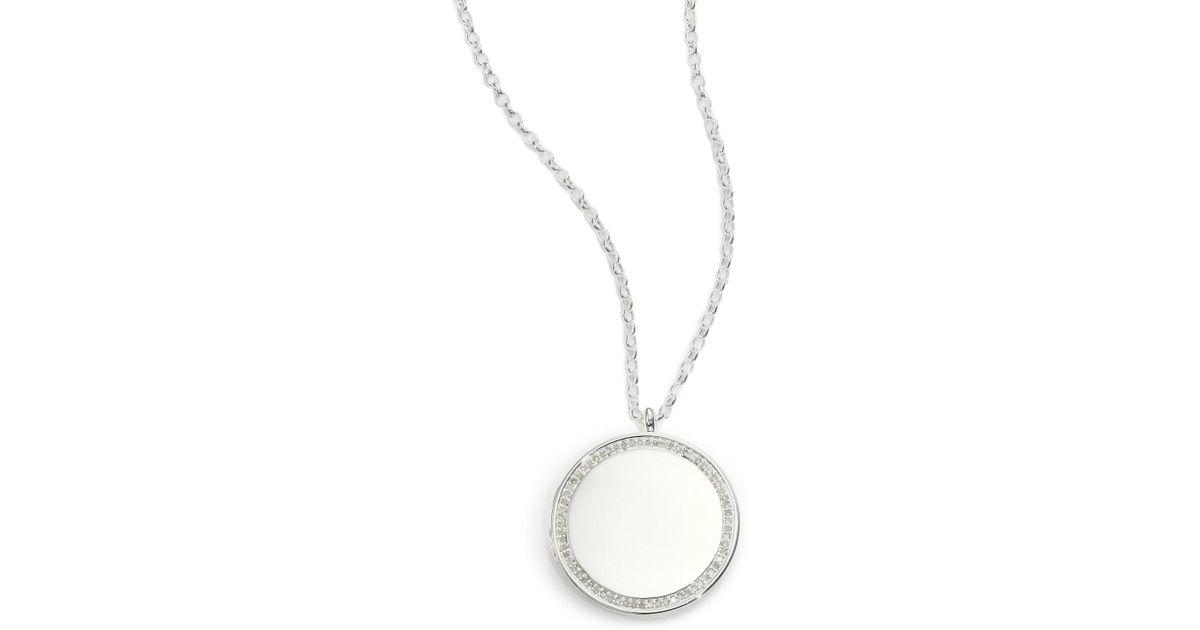 Astley Clarke medium Astley locket - Metallic 90rZO