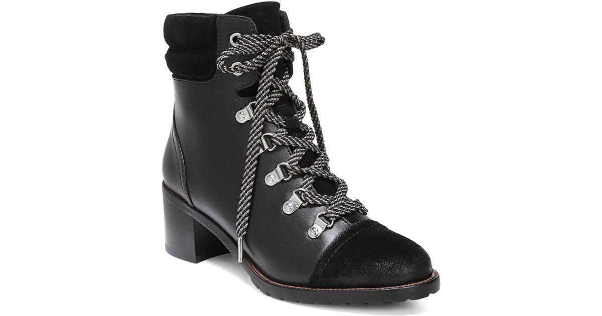 cfb3e407c787 Sam Edelman Manchester Ankle Boot in Black - Lyst