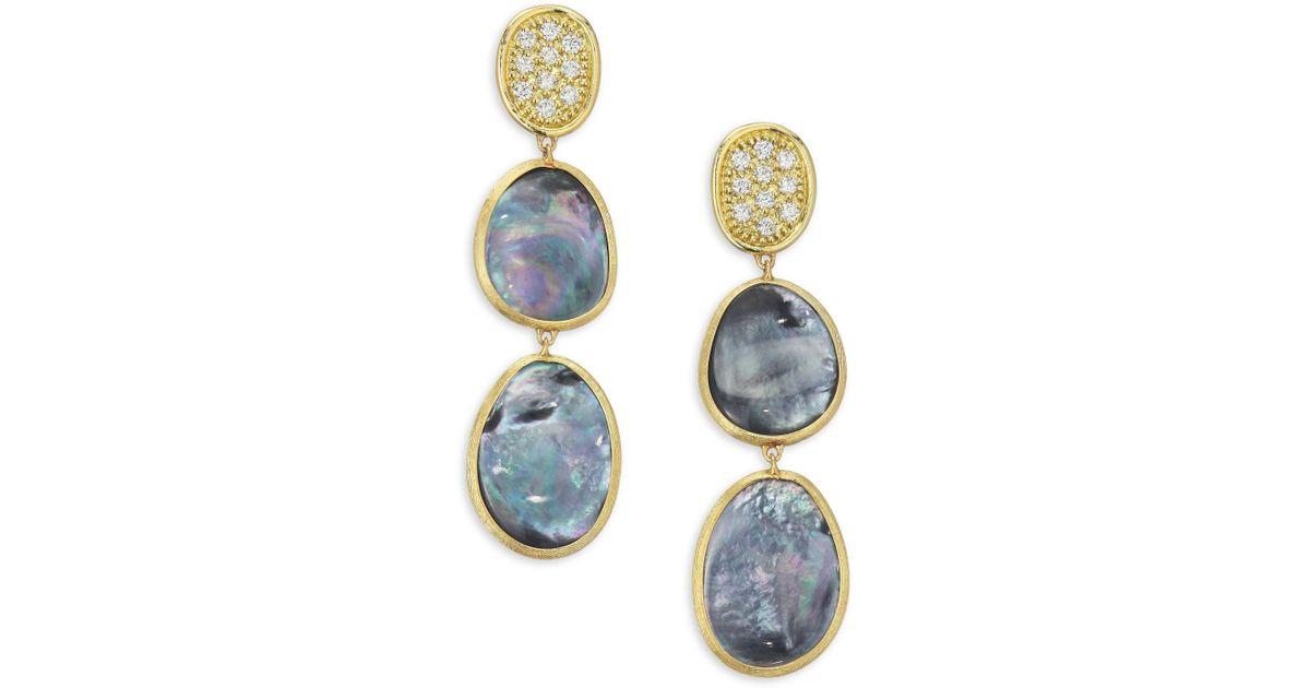Marco Bicego Lunaria 18k Gold Chandelier Earrings sgXF5pxTwo