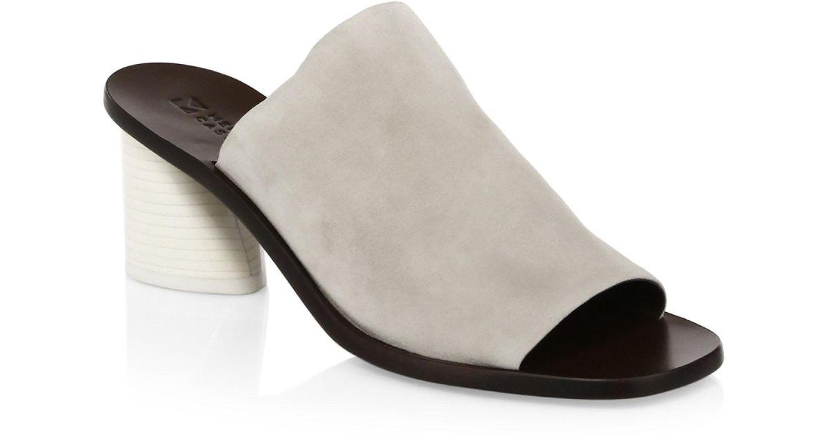 Mercedes Castillo Caeden Suede Mules Pick A Best Shopping Online For Sale MPDUAEo6