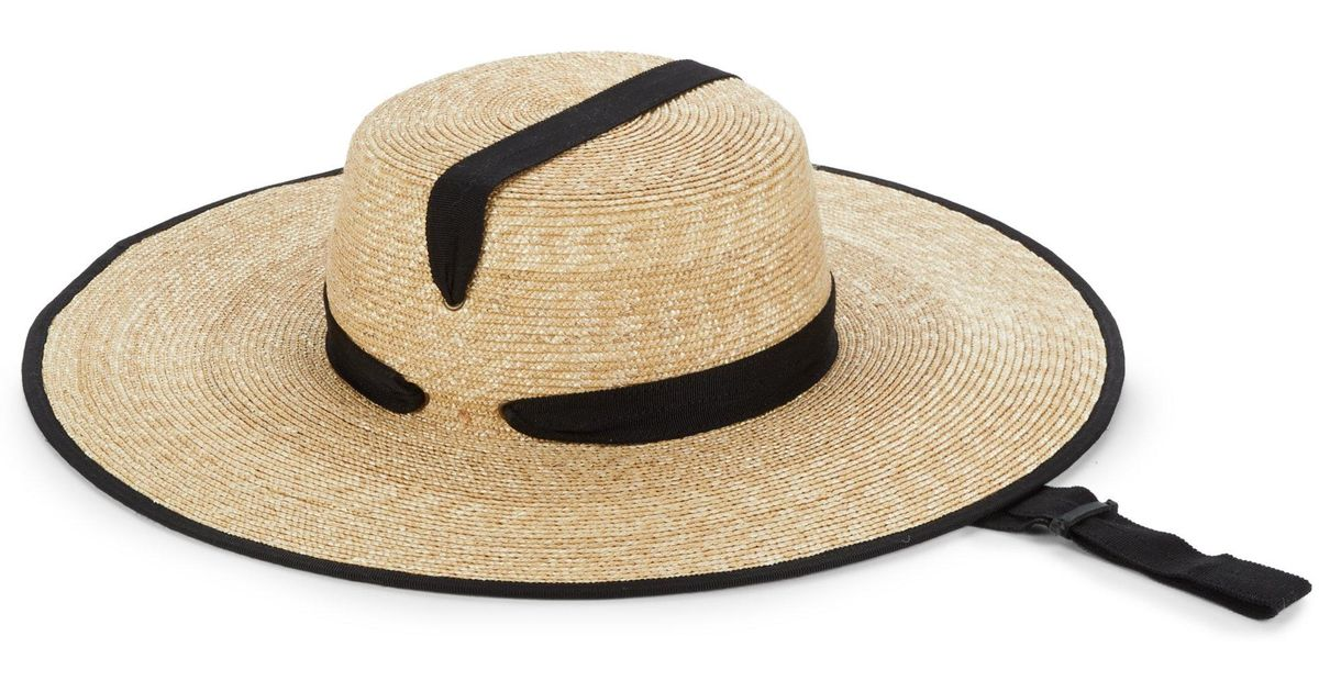 Lola Hats Zoro Wheat Straw Hat in Natural - Lyst 6b27ce6038f