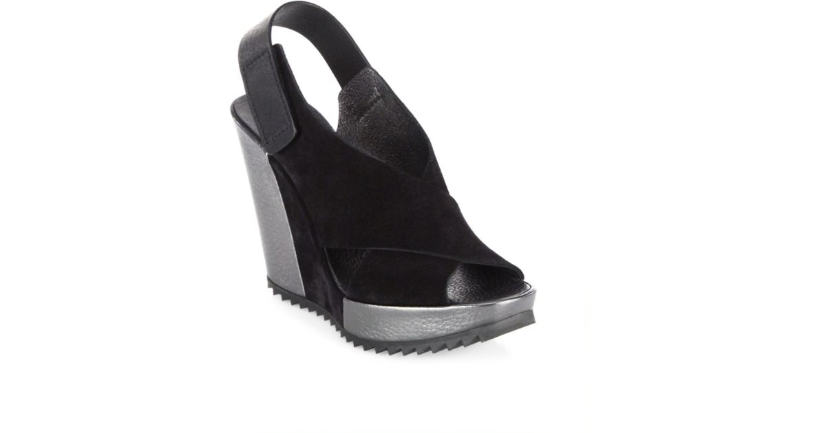 Pedro Garcia Yavel Castoro Leather Sandals bGmFmjg