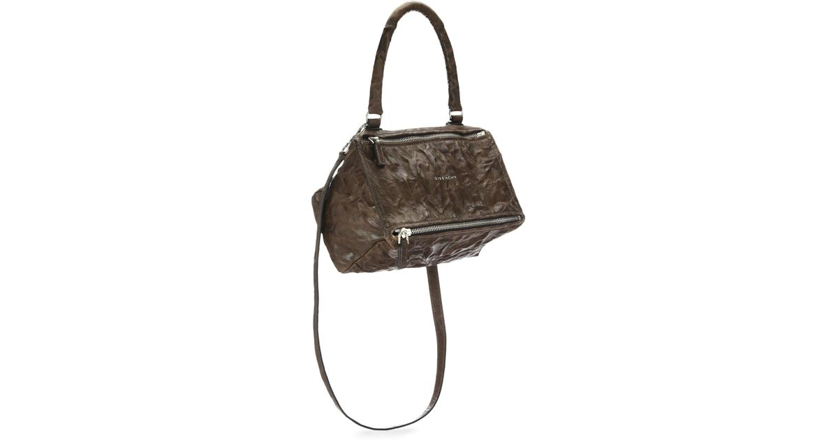 71afae6335e7 Lyst - Givenchy Women s Pandora Small Pepe Leather Shoulder Bag - Black in  Brown