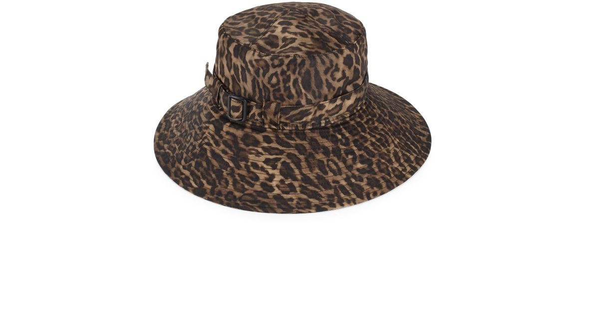 09e87ee2b92 Lyst - Eric Javits Kaya Rain Hat in Brown