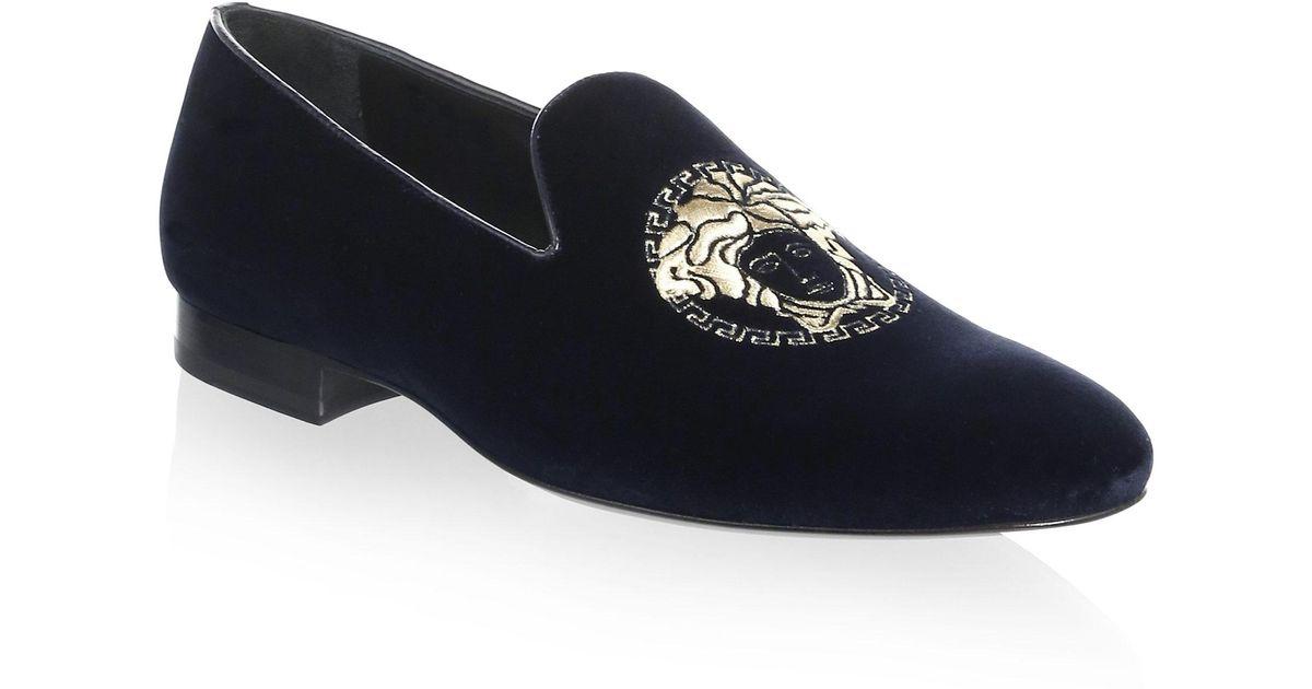 VERSACEClassic Velvet Loafers 8cE71xhT