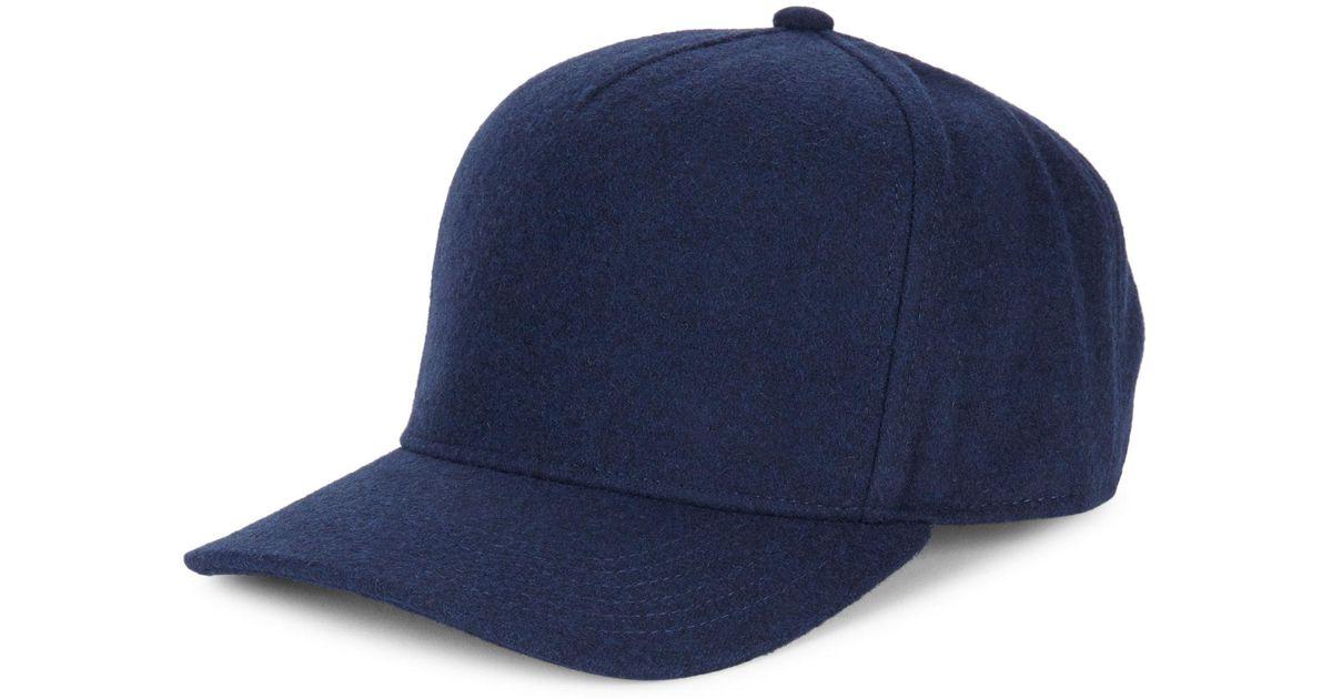 dbfe3727b4718 Gents Chairman Hemp Baseball Cap in Blue for Men - Lyst