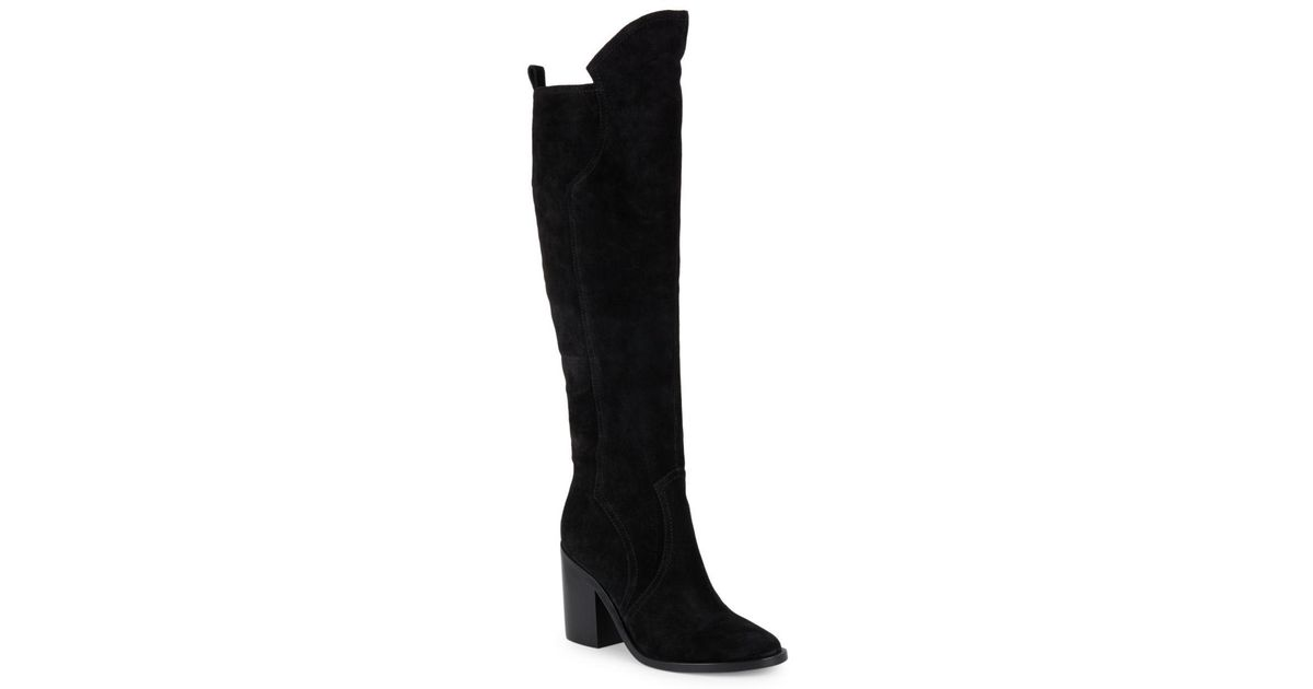 cheap websites Sigerson Morrison Suede Knee-High Boots affordable for sale buy cheap new styles buy cheap official free shipping shopping online 14zeStd7V