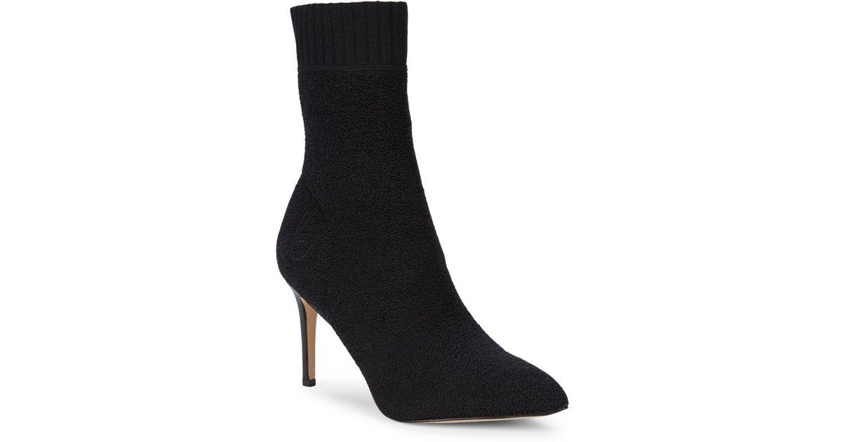 5d0438d96 Sam Edelman Oksana Sock Booties in Black - Lyst