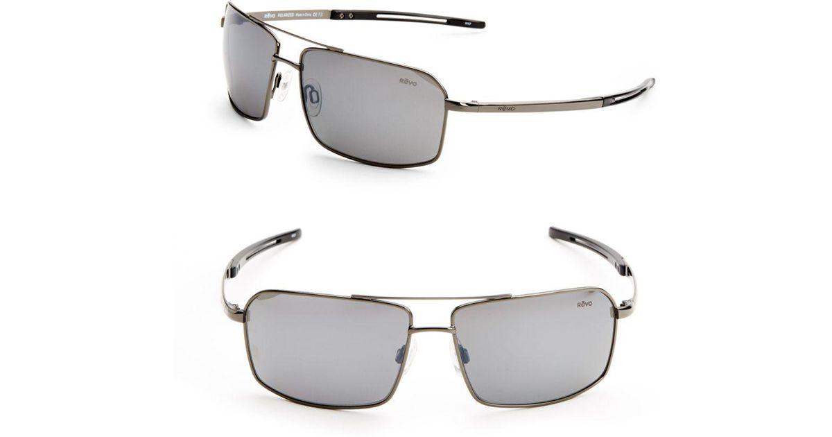 d8a5402ec7d Lyst - Revo Cayo 65mm Sunglasses in Gray for Men