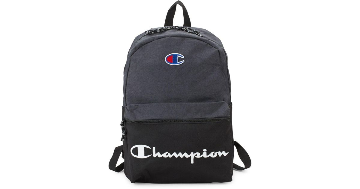Lyst - Champion Forever Champ The Manuscript Backpack in Black for Men bf0126c4bb234