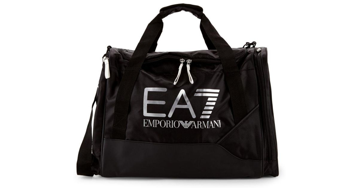 c02ea5dd792c Lyst - Emporio Armani Ea7 Duffle Bag in Black for Men