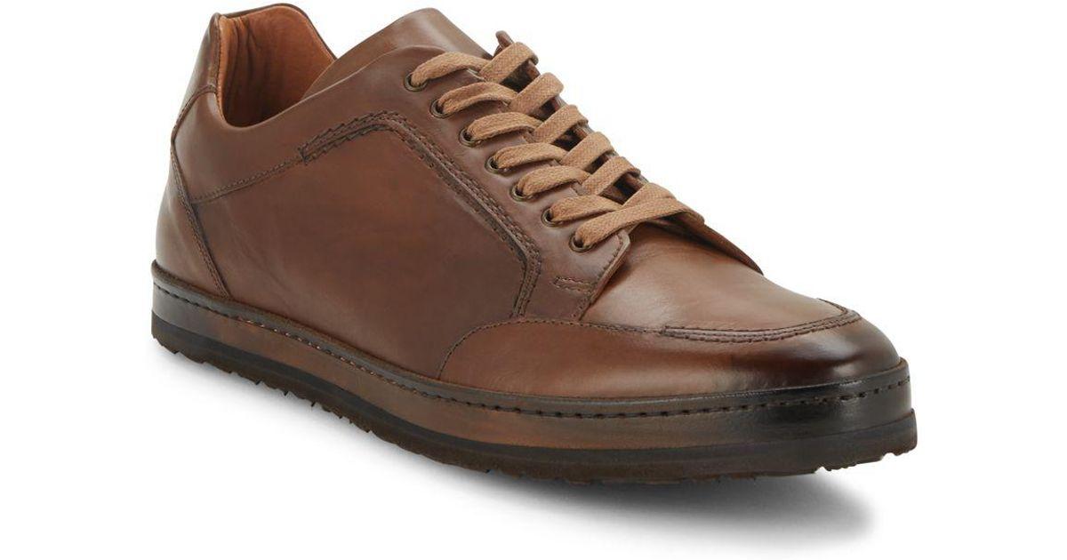 0707793f81f Mezlan Frankfurt Leather Sneakers for Men - Lyst