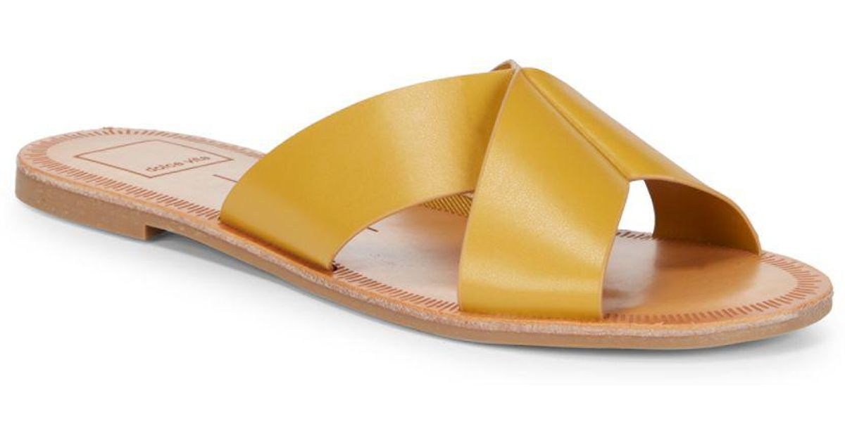 e7a535430b0d Lyst - Dolce Vita Cain Sandals in Yellow