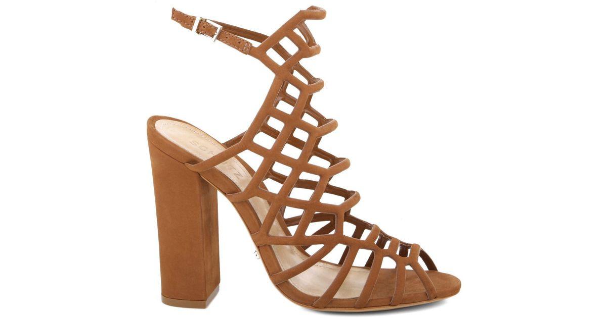 c46fa2a5d0c9 Lyst - Schutz Juliana Dress Sandal in Brown - Save 69%