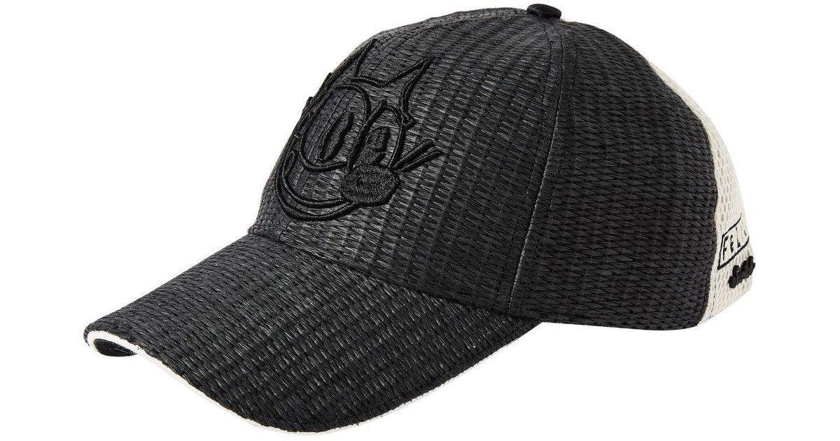 495d7c24f97 Lyst - Scotch   Soda Baseball Cap Felix The Cat in Black