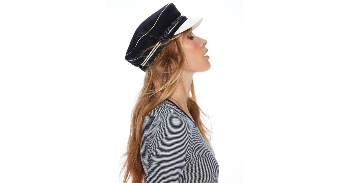 ae637786121 Lyst - Scotch   Soda Sailor Hat