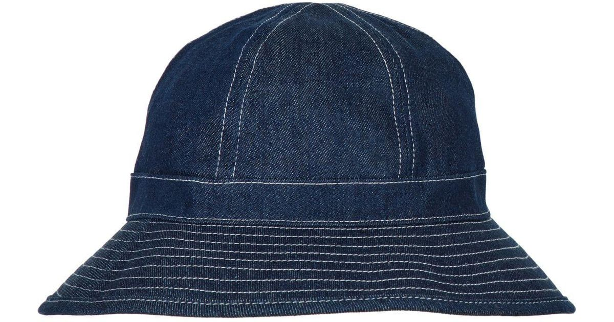 e9ad4a23eb48d Scotch   Soda Denim Bucket Hat in Blue for Men - Lyst