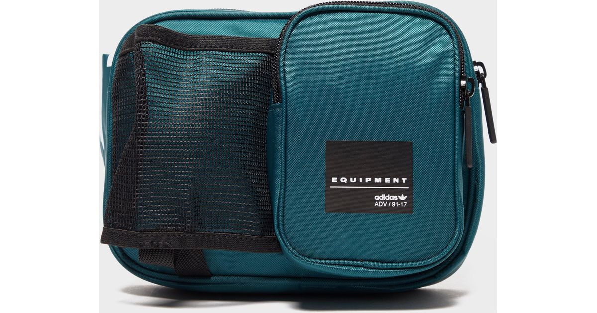 ... famous brand d5d5b 93ab5 Lyst - Adidas Originals Eqt Side Bag in Green  for Men ... 7b431abbc0