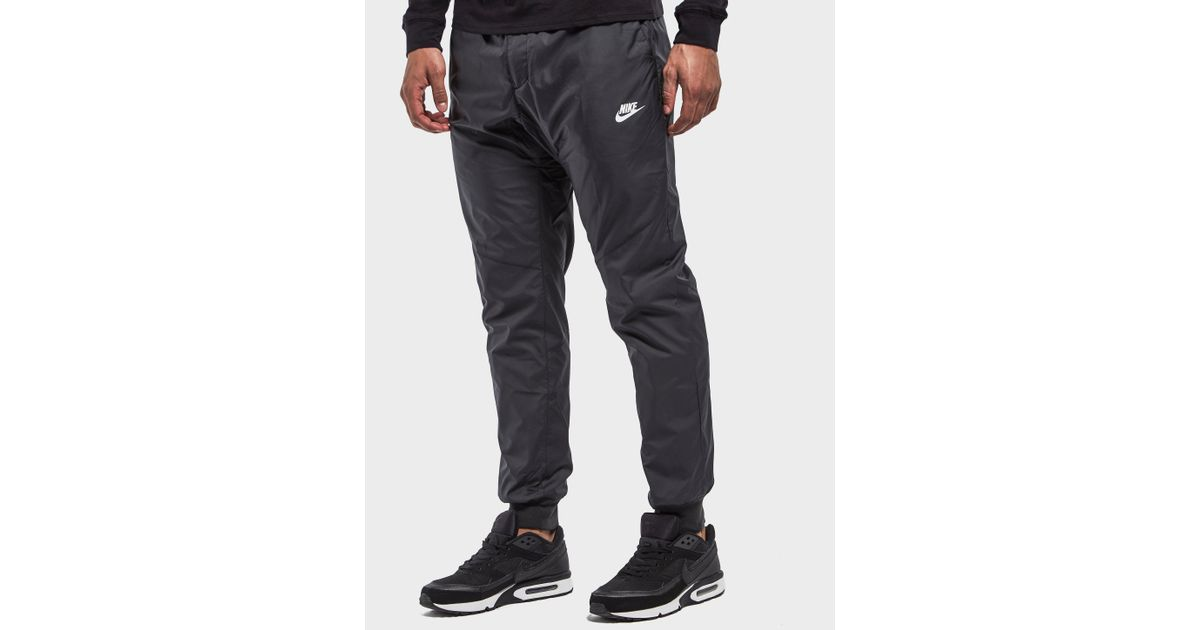 8f860a3e3c7a75 Lyst - Nike Windrunner Track Pant in Black for Men