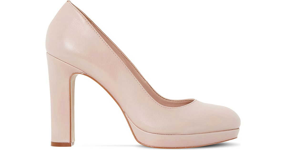 98f50d267f4 Dune Aria Platform Court Shoes in Black - Lyst