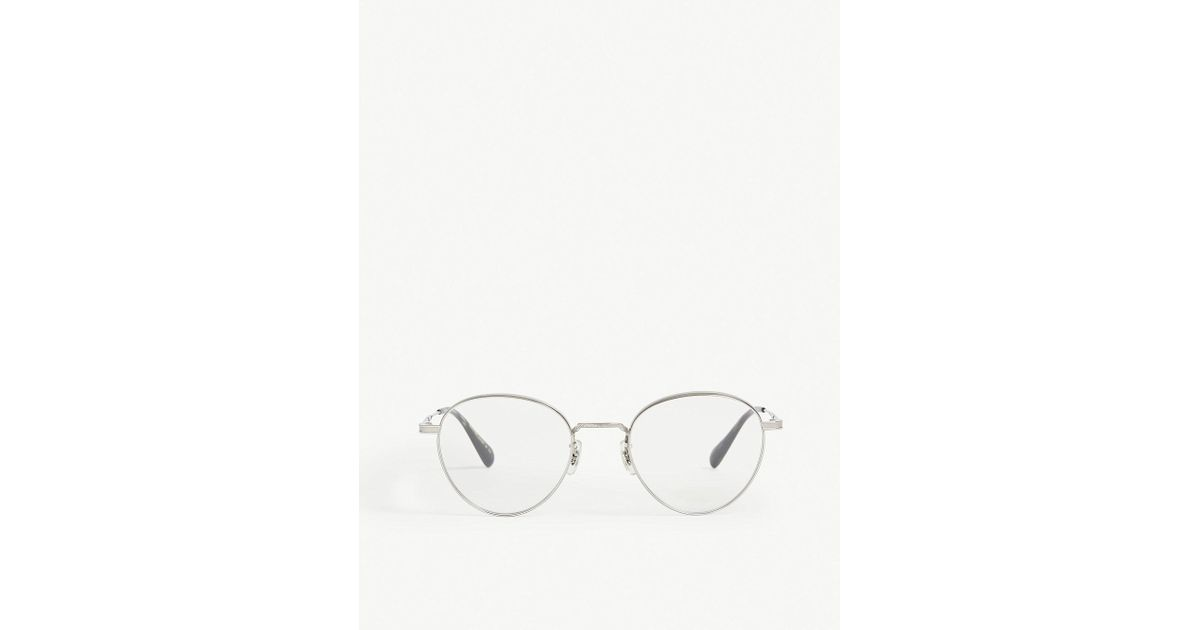oliver peoples watts phantos frame optical glasses in brown for men Oakley Two-Face Size oliver peoples watts phantos frame optical glasses in brown for men lyst