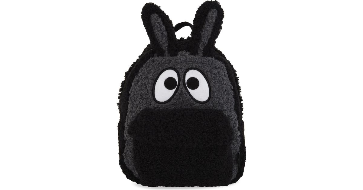 70748f3cde7c Lyst - Mini Cream Bunny-ears Backpack in Black
