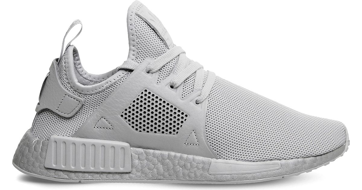 newest collection cda48 5db4c Adidas - Gray Nmd Xr1 Textile Trainers - Lyst