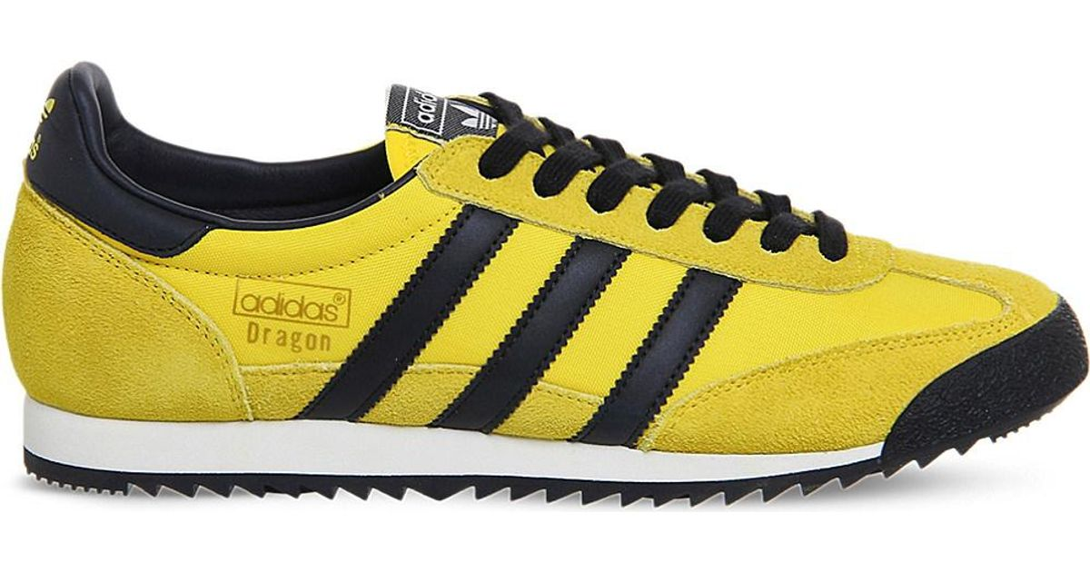 adidas Originals Dragon Vintage Trainers in Yellow for Men - Lyst 625dcba08d56