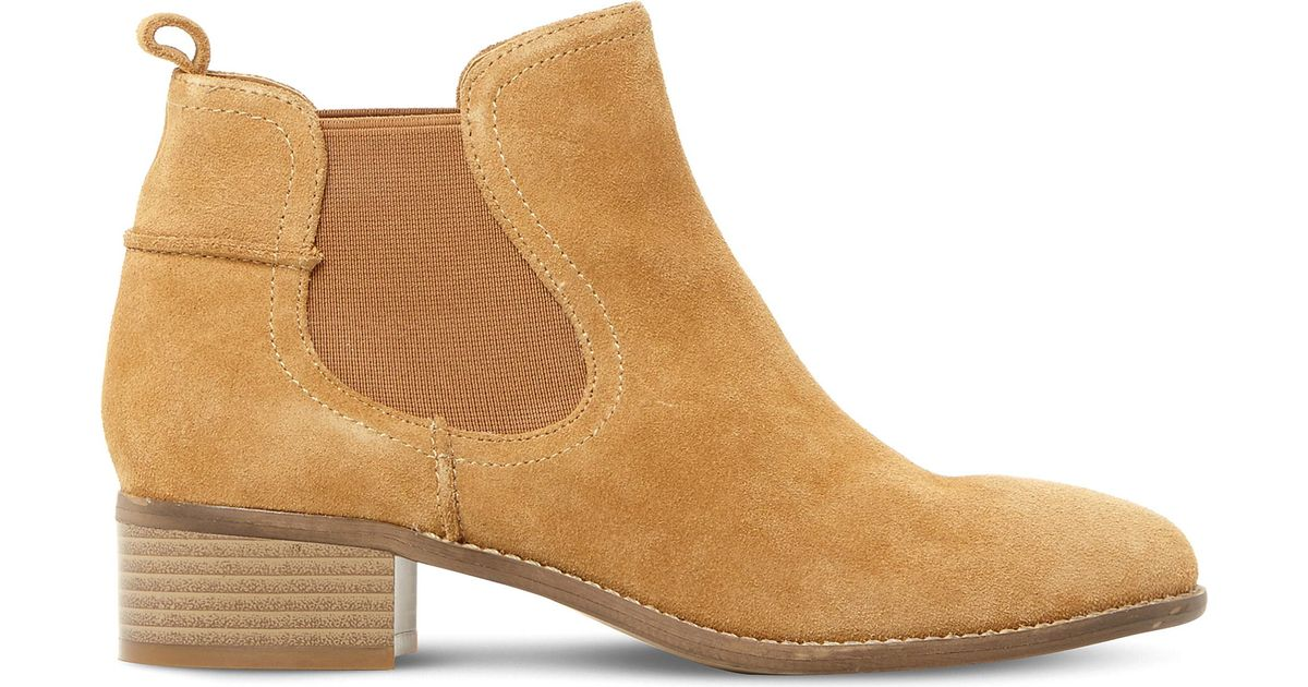 b445502b01f Steve Madden Dicey Sm Suede Chelsea Boots in Brown - Lyst
