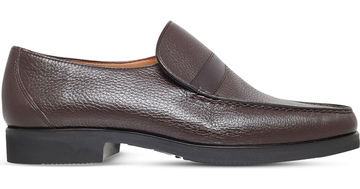 a6fa403e958 Lyst - Stemar Wide-fit Leather Loafers in Brown for Men