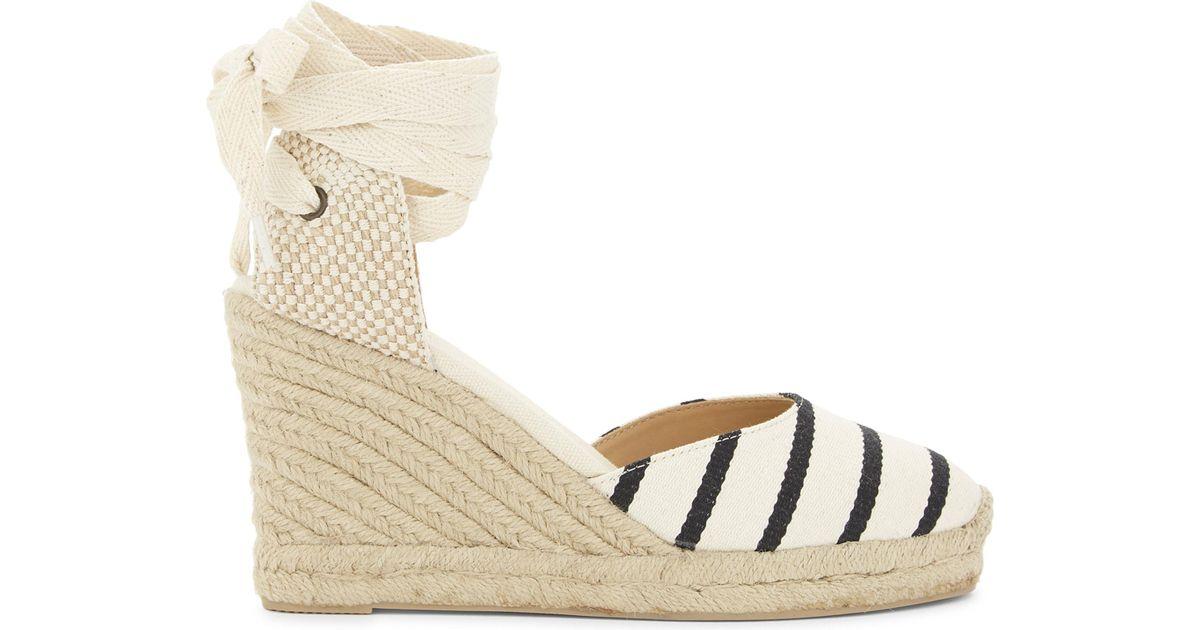 with paypal online Soludos wedge heel striped espadrilles cheap sale ebay zdzYoZ4u