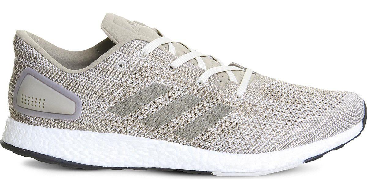 334cd6874 ... canada lyst adidas pureboost dpr mesh trainers for men bffe6 94b74