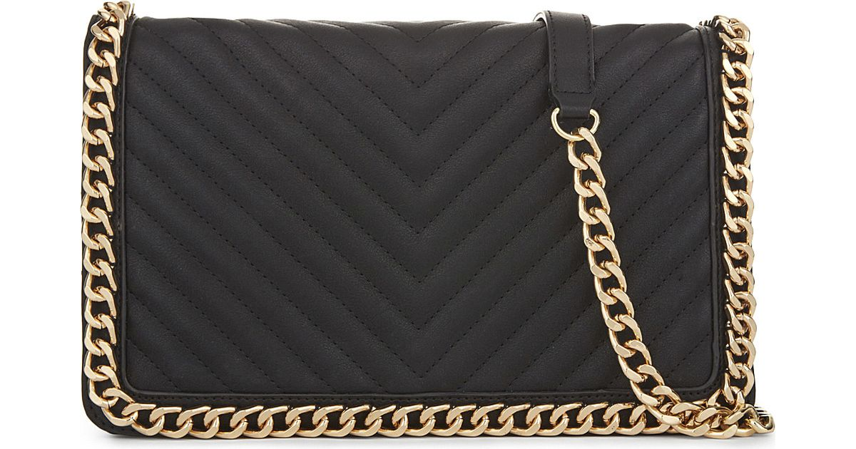 df0c07a103f Lyst - ALDO Greenwald Faux-leather Shoulder Bag in Black