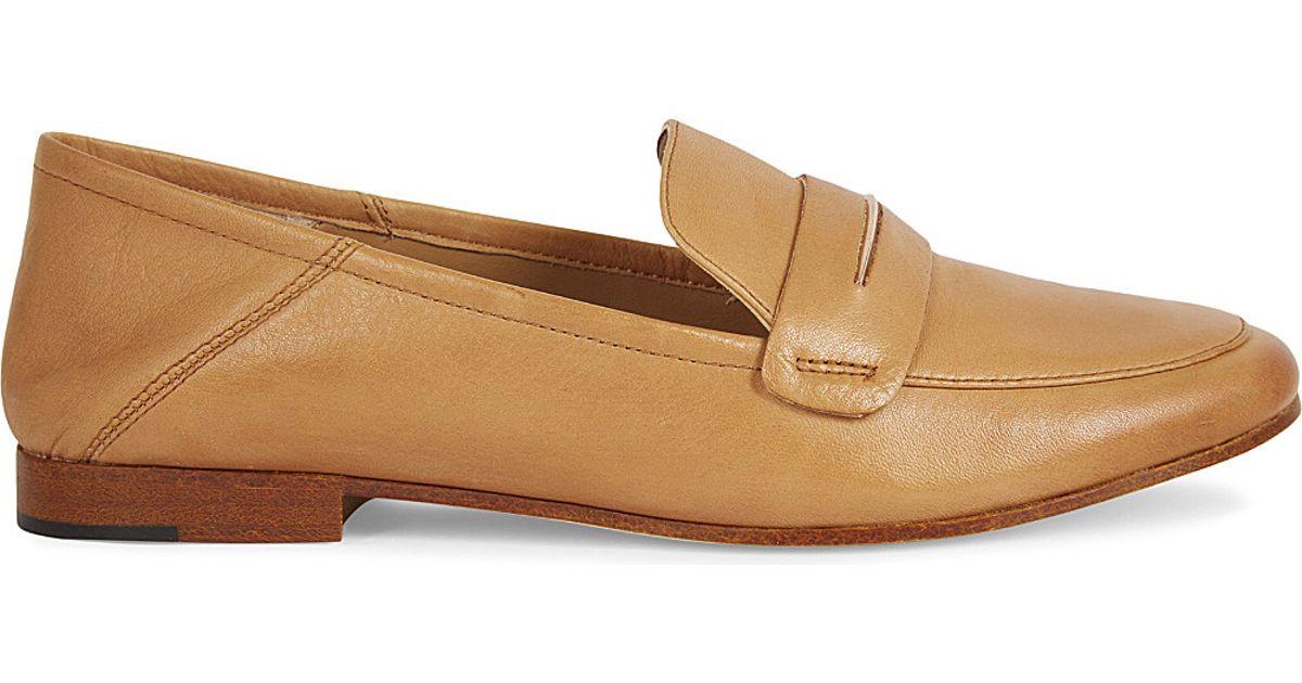28e3a7949cf Lyst - ALDO Casetti Leather Loafers in Natural