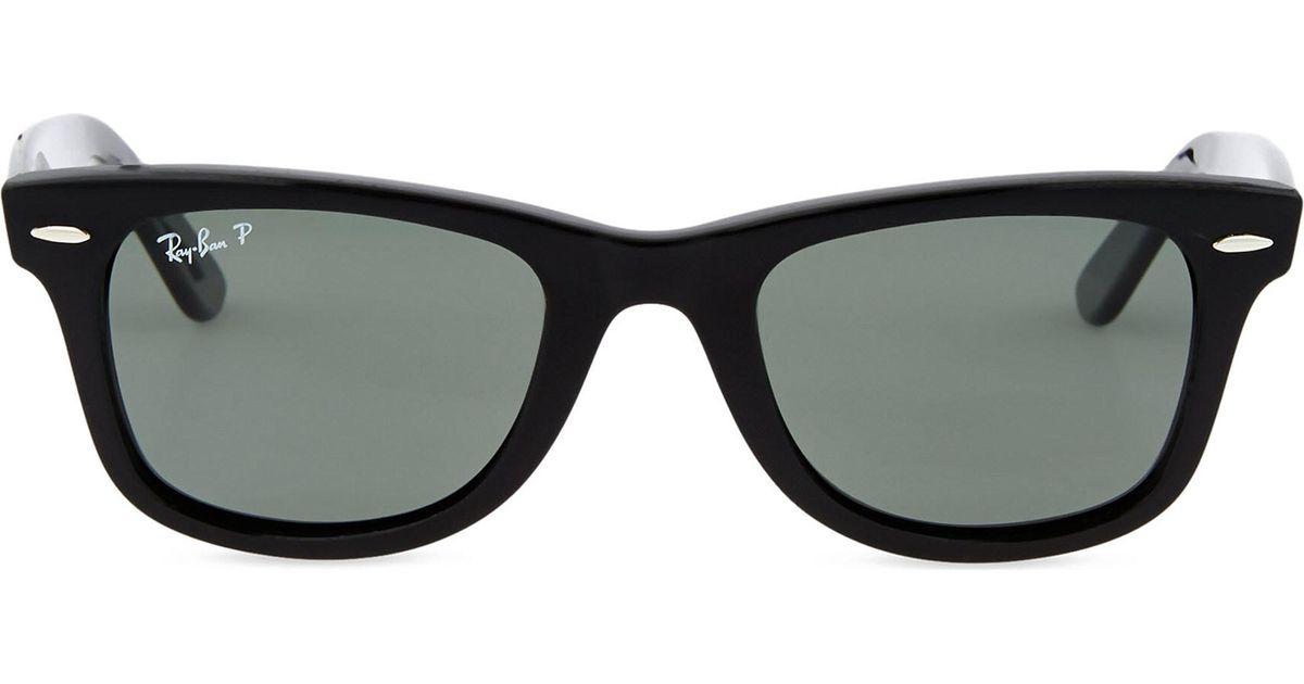 4429e618429 ... sweden lyst ray ban black thick frame wayfarer sunglasses rb2140 in  black 04fa1 eddd1