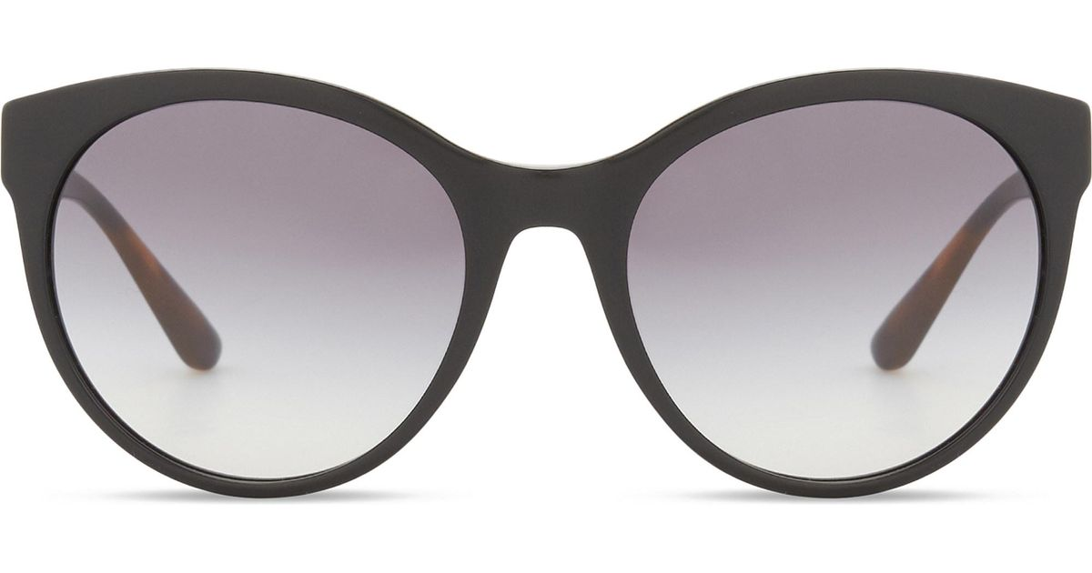 b5171999440d Lyst - Burberry Be4236 Round-frame Sunglasses in Gray