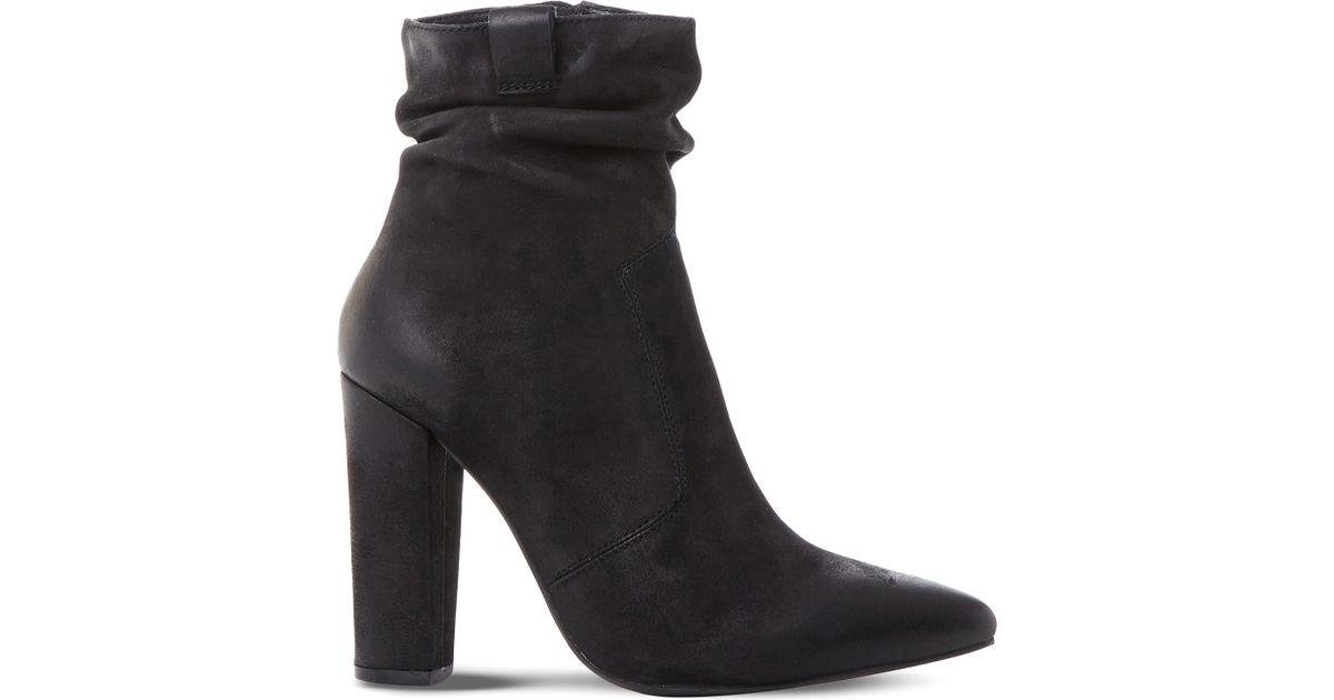 e73f21c0de1 Lyst - Steve Madden Ruling Block Heeled Ankle Boots in Black