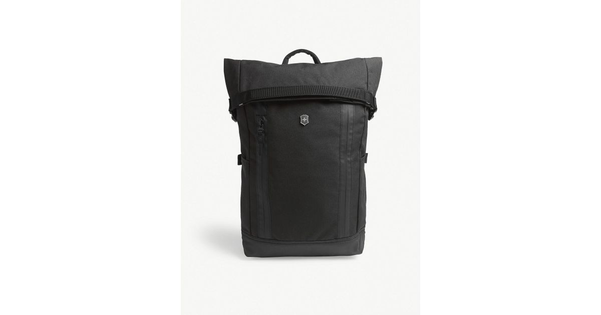1fa9952ce Victorinox Altmont Classic Rolltop Laptop Backpack in Black - Lyst