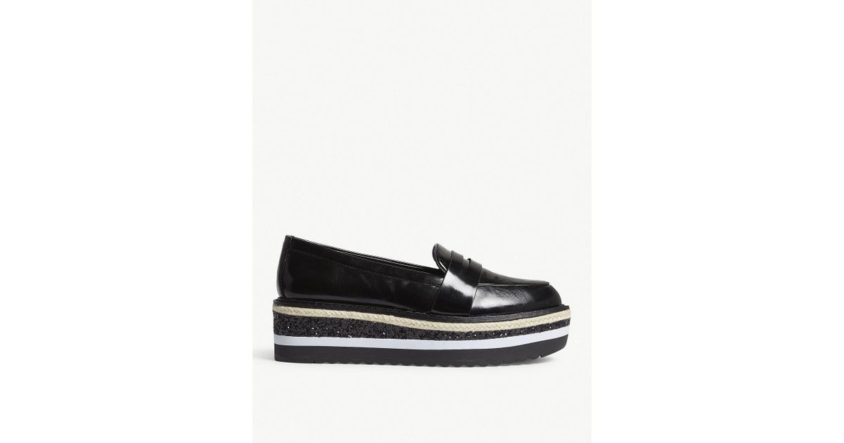 d18b4e8eb77 Lyst - ALDO Ibaresen Flatform Loafers in Black