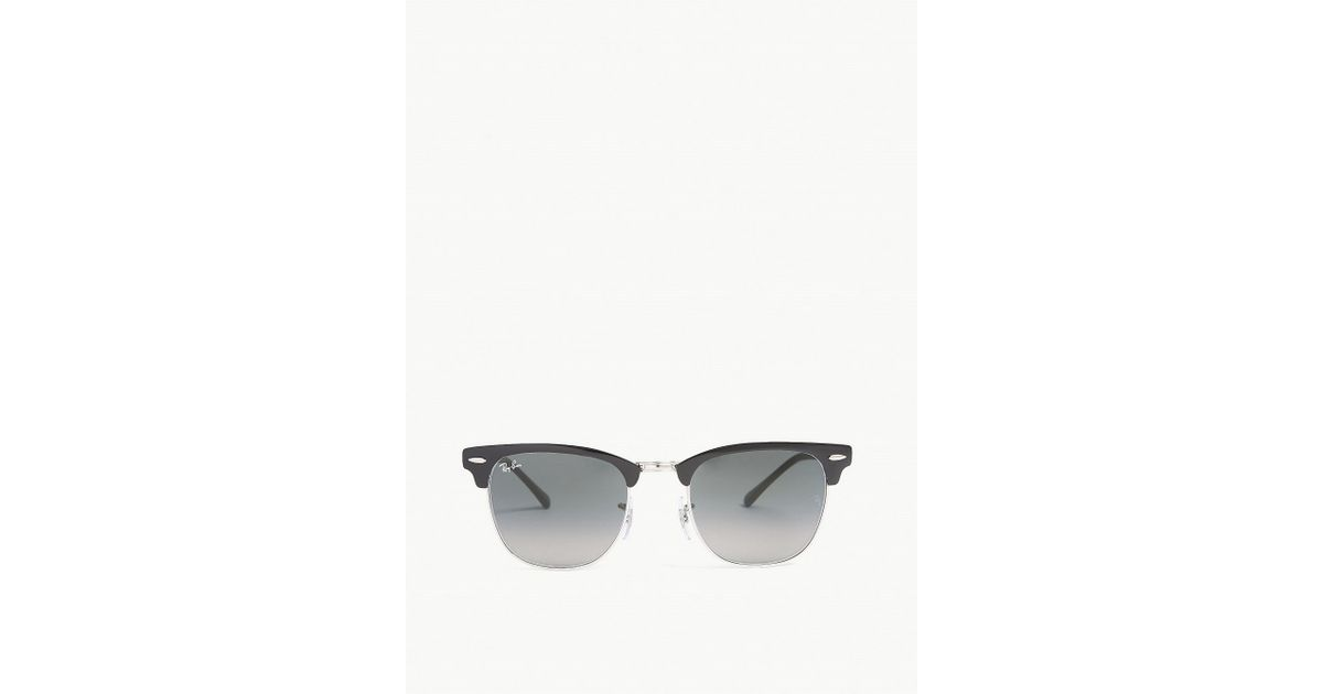 96f38a54ec5 Lyst - Ray-Ban Rb3716 Square-frame Sunglasses in Black