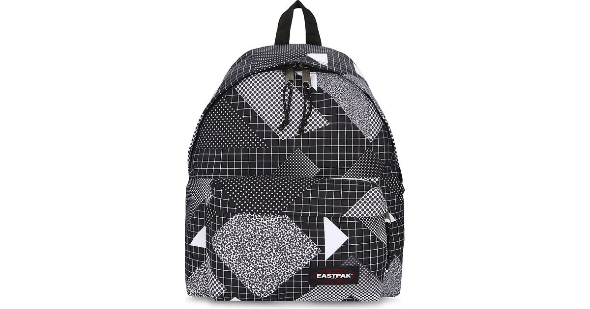Padded Backpack Lyst Black Eastpak In Pak'r vmNPny8w0O