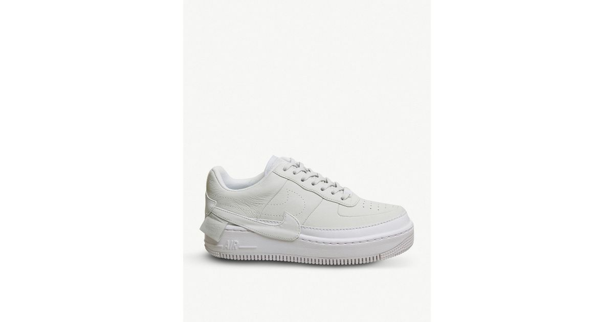66be44f1c9b4 Nike Air Force 1 Jester Xx Leather Trainer in White - Lyst