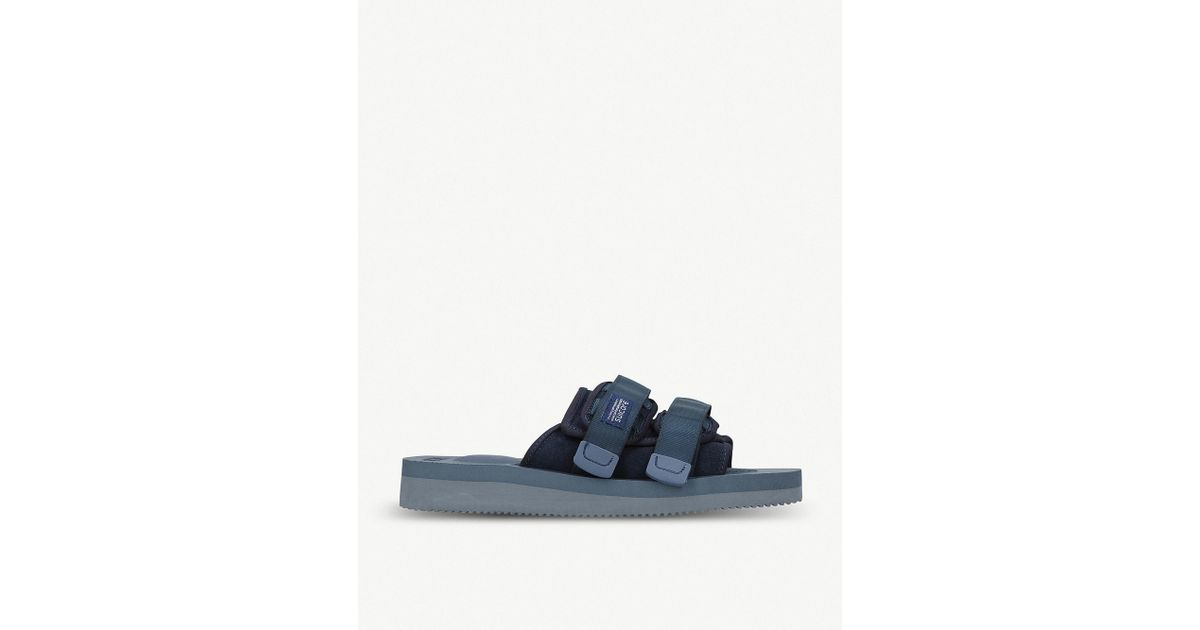 f5ea18cf1ca Lyst - Suicoke Moto-vs Neoprene Sandals in Blue for Men