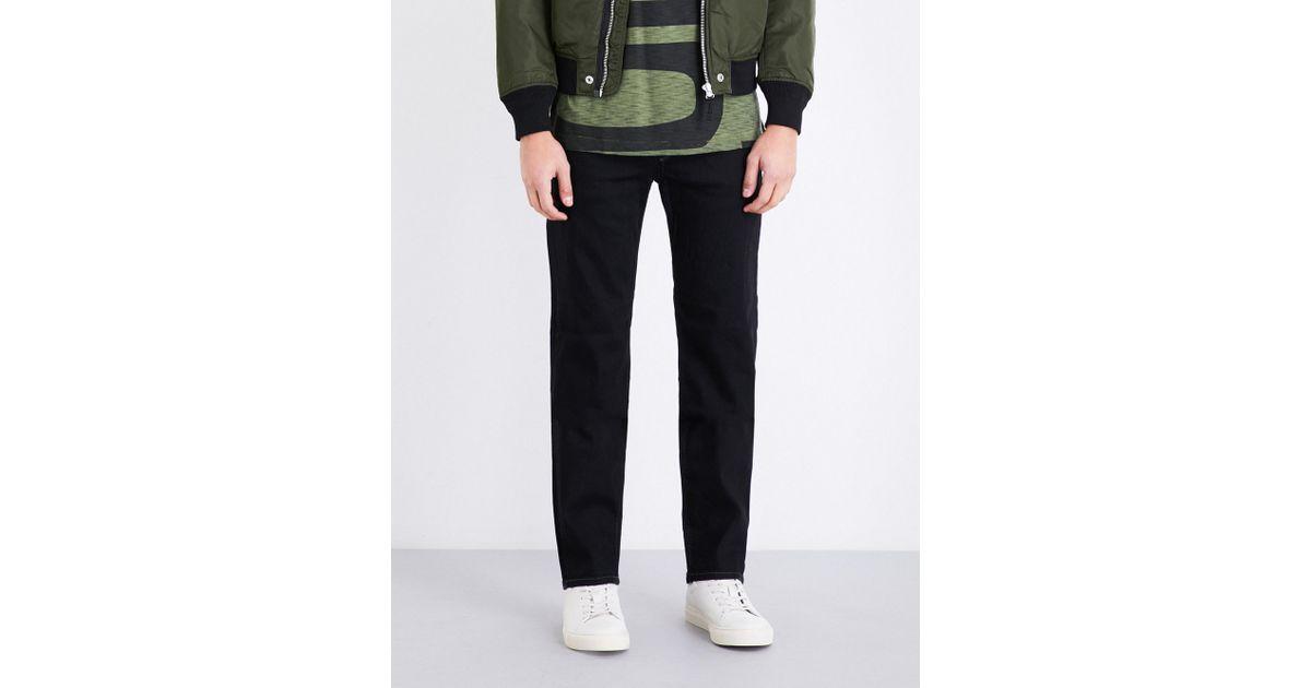 9ef0d6f7 DIESEL Waykee 0886z Regular-fit Stretch-denim Jeans in Blue for Men - Lyst