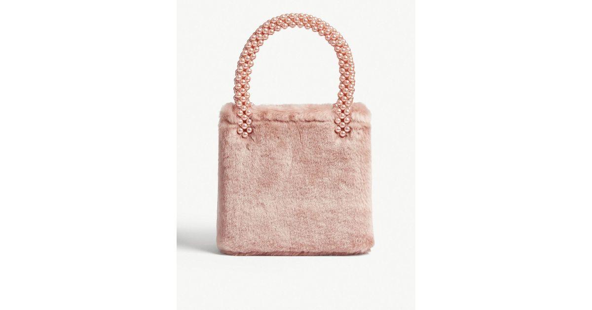 Shrimps Una Bag in Pink - Lyst 5de80980e4e3d