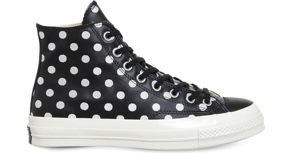 f788d18aa6d5 Lyst - Converse All Star Ox 70s Leather High-tops in Black