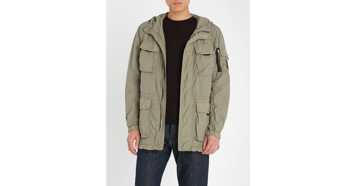 ff9173d9f9 Belstaff Pallington Shell Jacket in Green for Men - Lyst