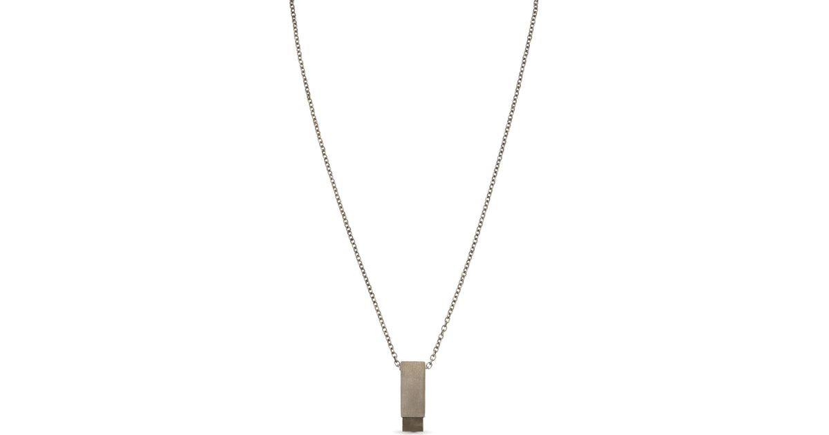 Parts Of Four Cuboid necklace - Black C0Hf3