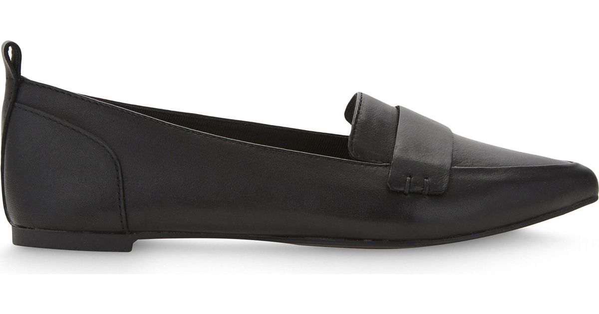 ecf8c804935 Lyst - ALDO Cherryhill Leather Loafers in Black